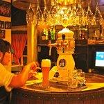 German draught beer