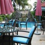 Restaurant-Außenbereich