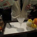 Preparazione del Martini