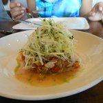 Crab and watermelon salad