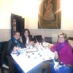Cenando en el reservado