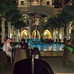 Night at the palace