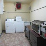 the laundry facility