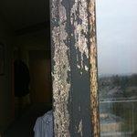 (Rest-)Farbe an der Balkontür