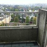 Toller Ausblick - fürchterlicher Balkon