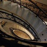 hotel stair case