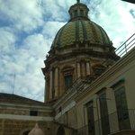 San Giuseppe de Teatini - vista dal terrazzino della suite