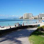 Beachfront Honolulu