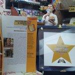 """La testimonianza della """"stella"""" ricevuta per la qualità del prodotto offerto alla clientela"""