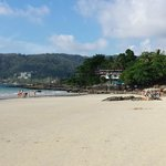 Patong Beach (10 min walk from hotel)