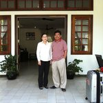 my photo with Ms Ly Saradin the General Manager of Apsara.