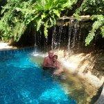 Pool im hauseigenen Dschungel