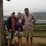 Jerry with my visitors at lookout point