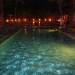 Pool bei Nacht!