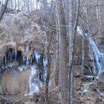 Falls Ridge Falls from the walking trail