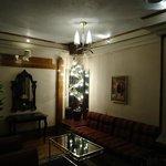 Elegantly furnished lobby