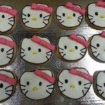 Hello Kitty Custom Cookies