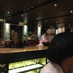 Open bar/kitchen