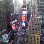 View from room on 35th floor, Times Square side