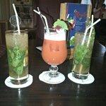 cocktail au bar du disneyland
