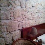 exposed stone