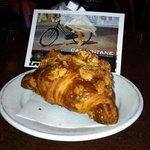 The almond croissant.