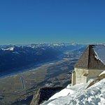 Windische Kirche - Blick in das Gailtal