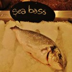 Excellent sea bass!