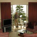 Napier Motel - great room