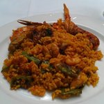 Scrumption seafood paella