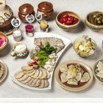 Breakfast - Fresh Organic Ukrainian concept
