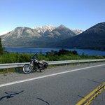 camino a Bariloche desde Villa la Angostura, maravilloso!!!