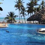 espace piscine/plage