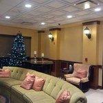 Lobby w/Christmas Tree