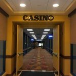 Enter the Casino from inside