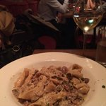 OUR FAV:  Home made taglatelle pasta with porcini mushrooms and walnuts