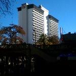 Hilton Palacio hotel from RiverWalk
