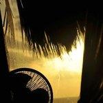 Sunrise from Bed - Aqua suite