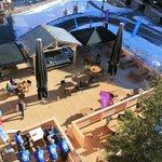 La Terrasse de 400m² du Cafe Del Mott