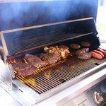 Le barbecue du Cafe Del Mott