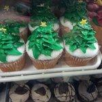 Cup cake natalizi
