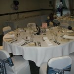Beautifully Decorated Banquet Tables