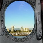 Port hole view