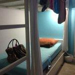 comfortable bunks