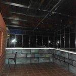 Patio / terraza para habitaciones combinables