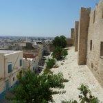 Vue de la Kasbah sur la Médina de Sousse