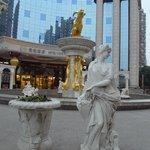 Yun's Paradise Hotel entrance