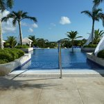 the infinity pool at the loby