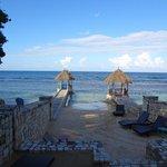 Beach area of Hermosa Cove Resort