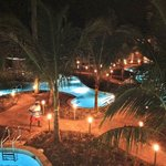 Pool Area After Dark